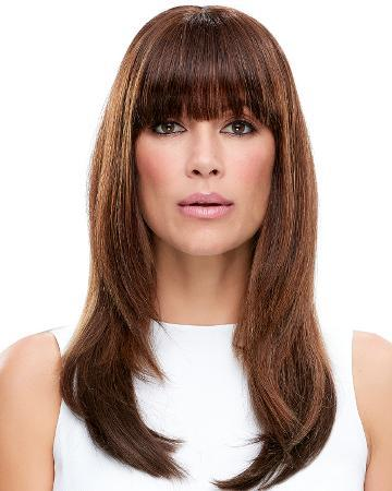 solutions photo gallery toppers human hair toppers jon renau 01 beginning stage 02 easifringe hh 02 womens hair loss easifringe hh jon renau brunette 12 inch human hair toppers 02