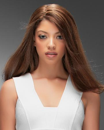 solutions photo gallery toppers human hair toppers jon renau 01 beginning stage 03 easipart hh 14 womens hair loss easipart hh jon renau human hair topper brunette 12 inch 01