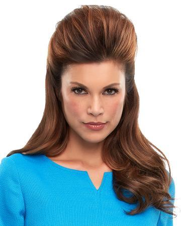 solutions photo gallery toppers human hair toppers jon renau 01 beginning stage 05 top this 05 womens hair loss top this jon renau hh human hair topper fs6 brunette 12 inch 01